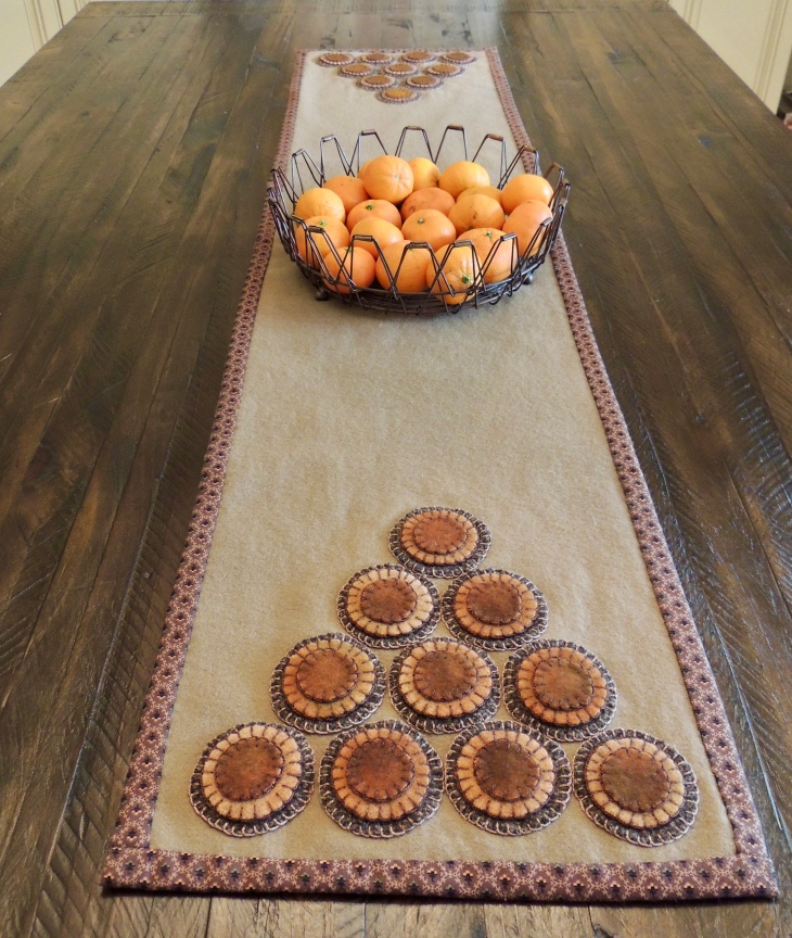 Long Penny Rug Tower